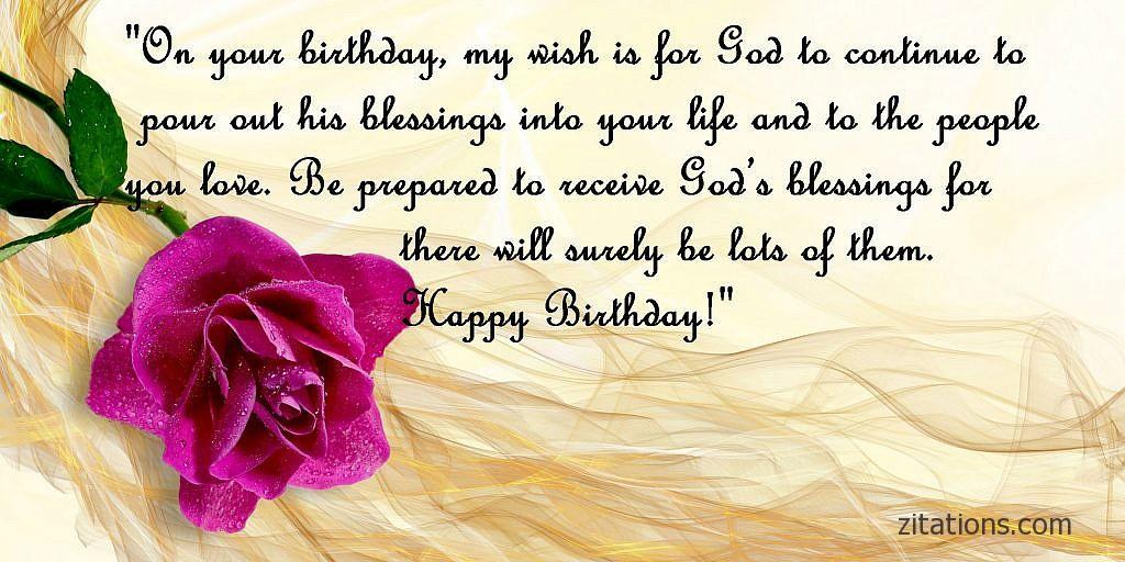 15 Awesome Happy Birthday Religious Quotes Zitations