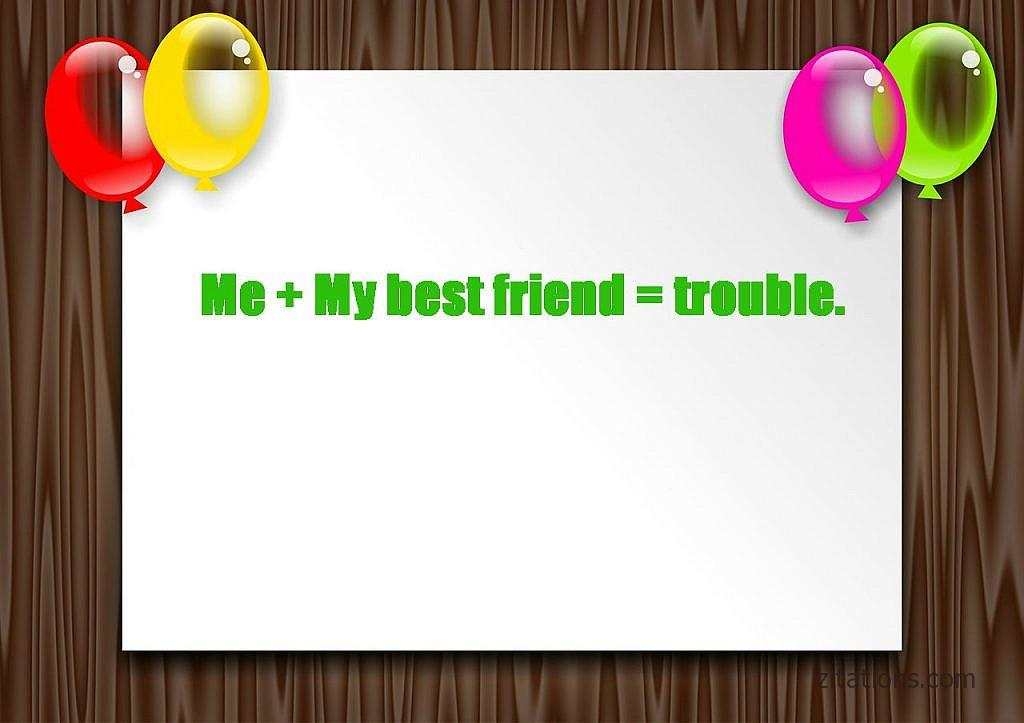 Funny message for best friend