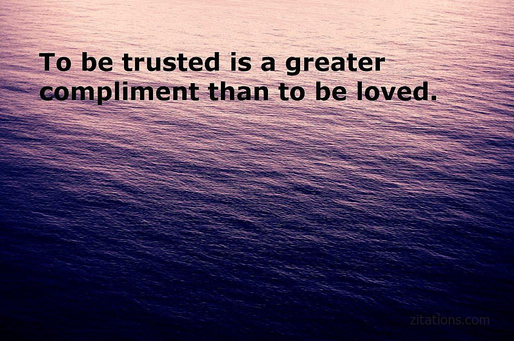 quotes about relationships and trust