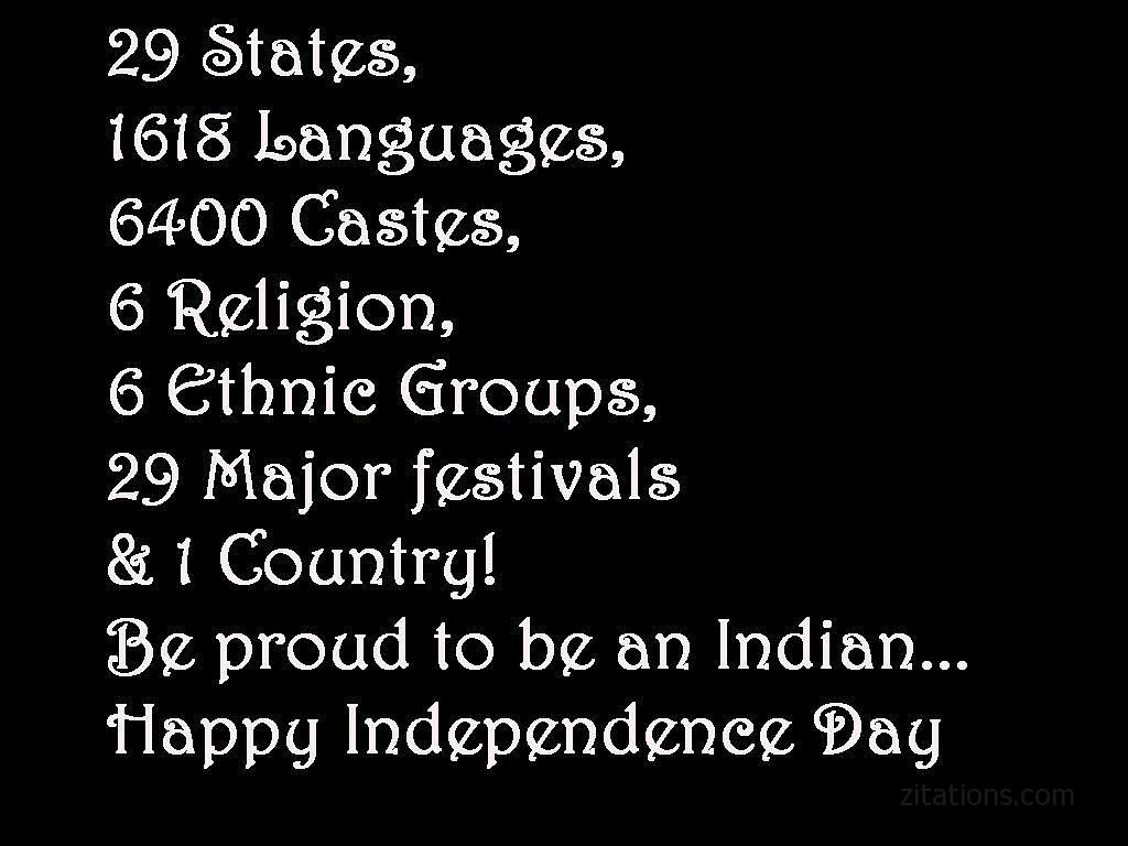 Whatspp Status for Independence Day