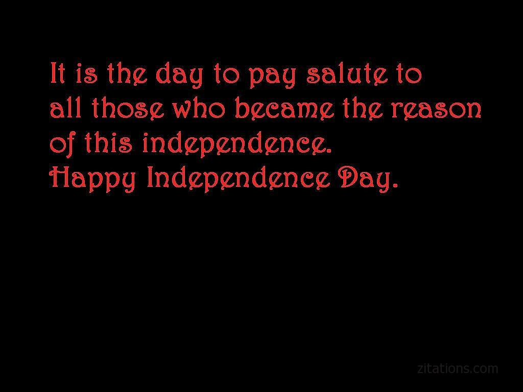 Status for Independence Day