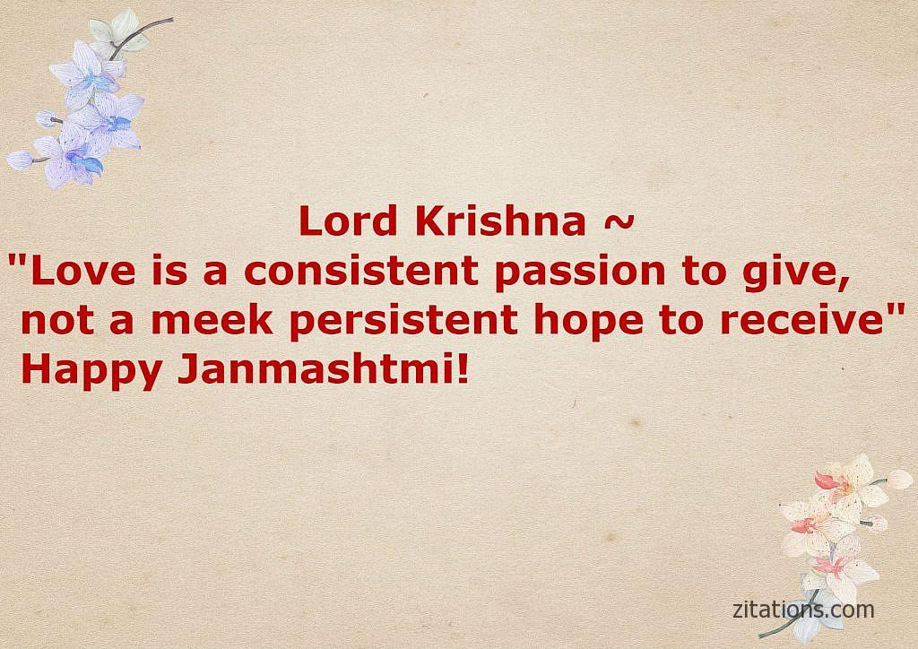 Best Janmashtami quotes