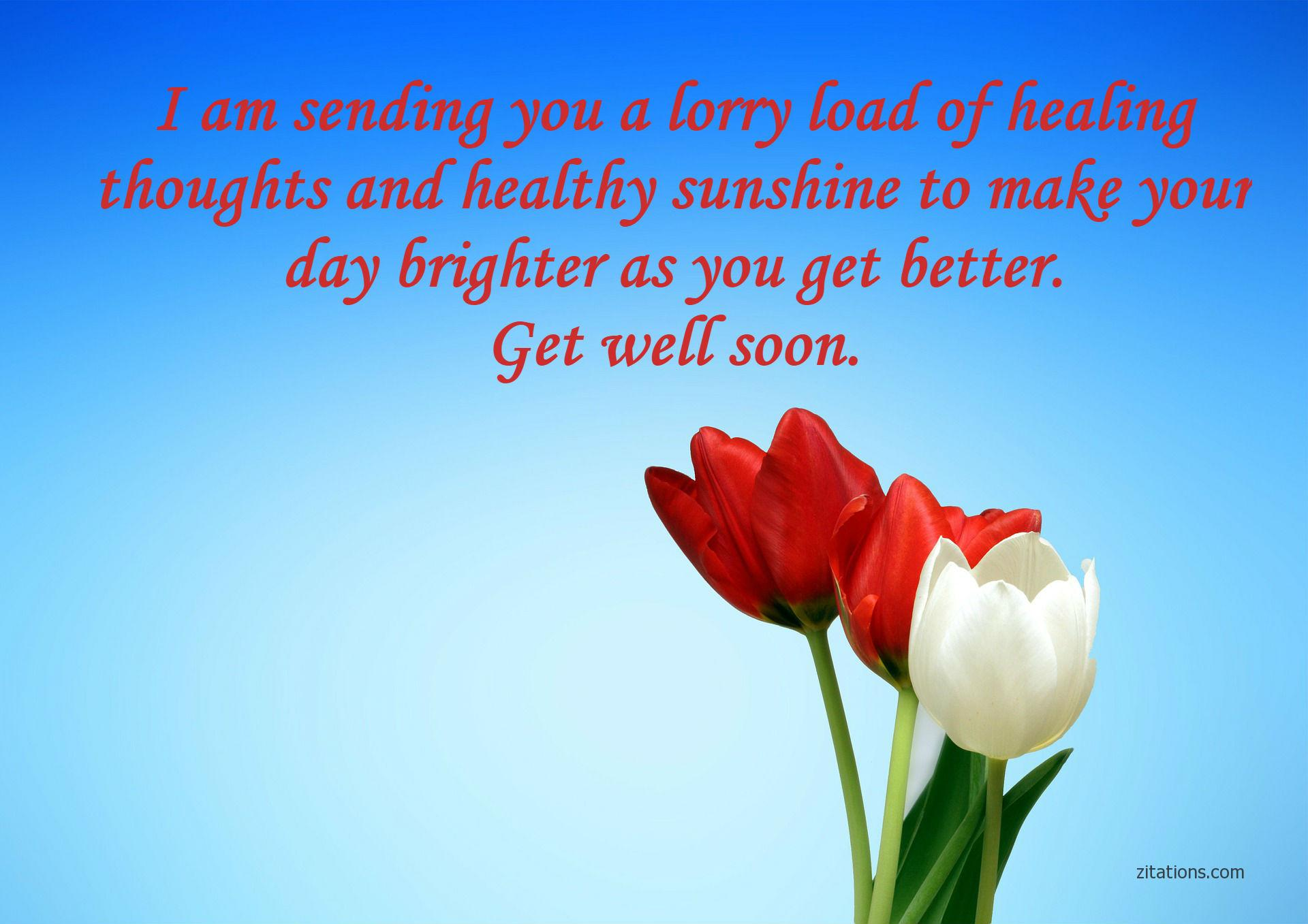 Speedy Recovery Wishes