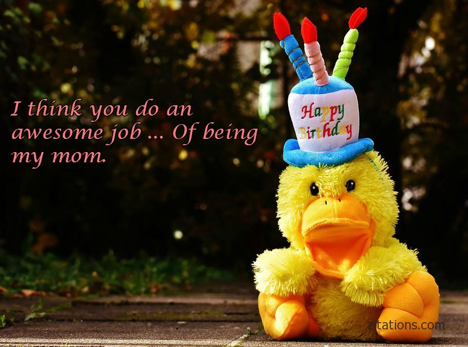 Happy Birthday Mom - Funny Messages2