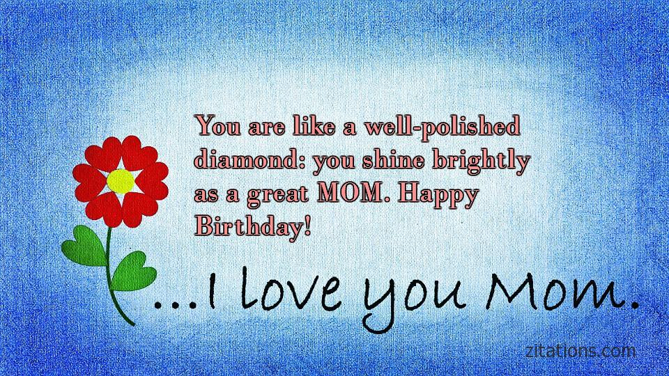 Birthday Quotes for Mom - 1