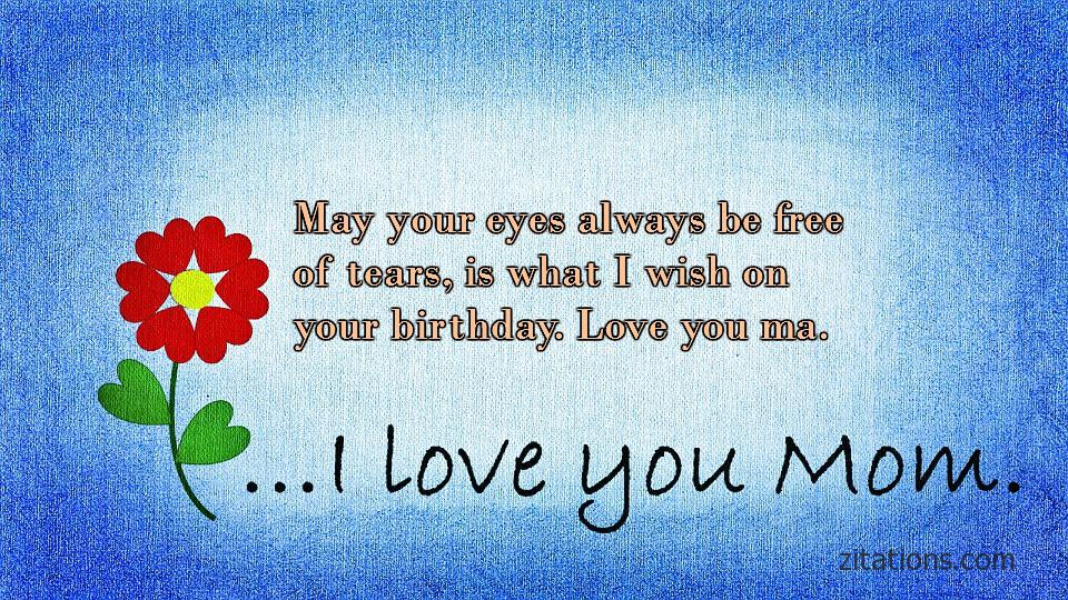 Birthday Quotes for Mom - 2