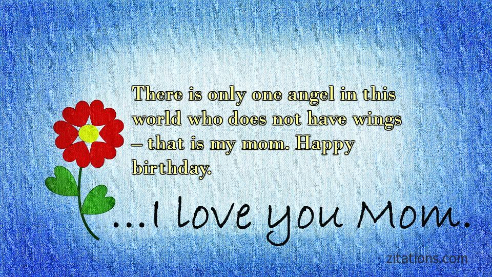 Birthday Quotes For Mom To Make Her Feel Special Zitations