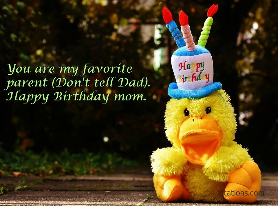 Happy Birthday Mom - Funny Messages 5