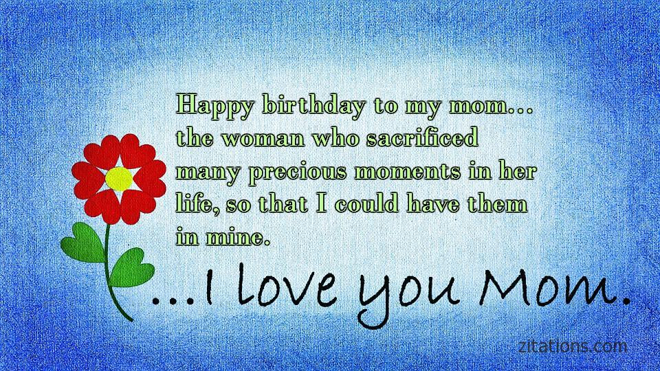 Birthday Quotes for Mom - 4
