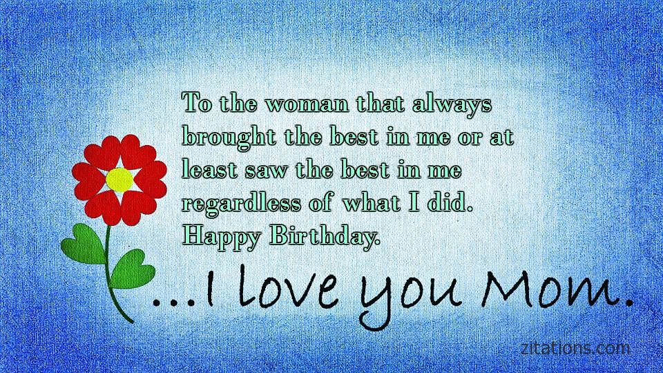 Birthday Quotes for Mom - 5