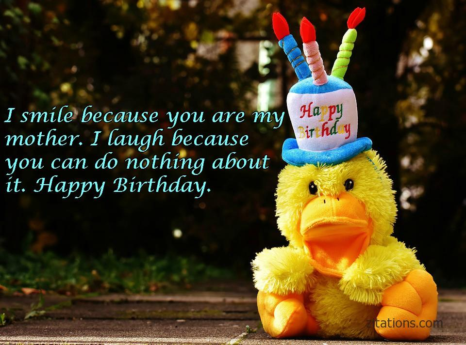 Happy Birthday Mom - Funny Messages 7