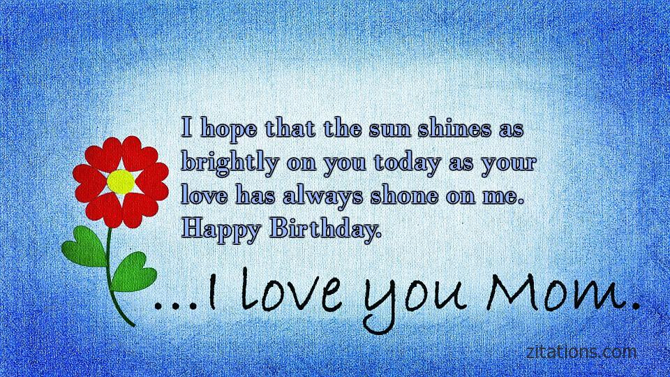 Birthday Quotes for Mom - 7