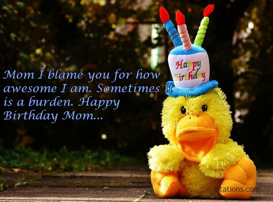 Happy Birthday Mom - Funny Messages 8