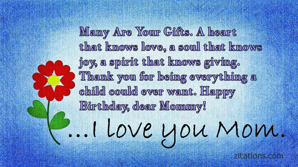 Birthday Quotes for Mom - 8