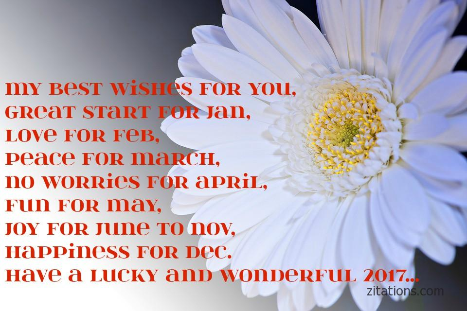 New year wishes - 1