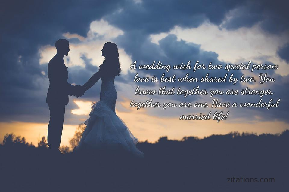 cute wedding wishes - 1