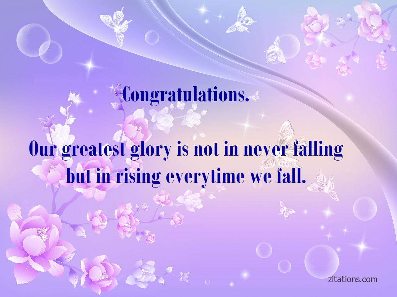 congratulations quotes on achievement - 1