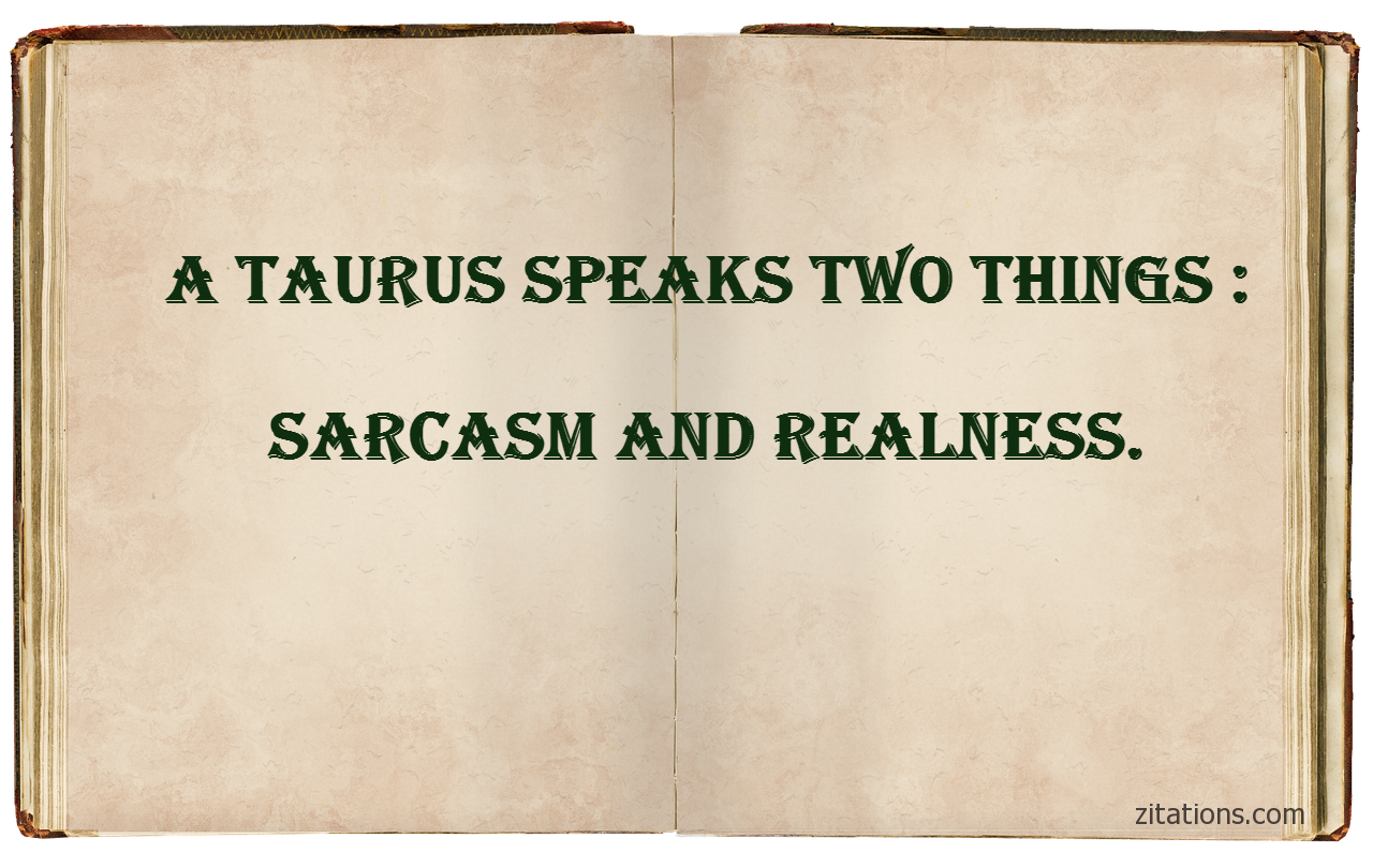 funny taurus quotes - 3