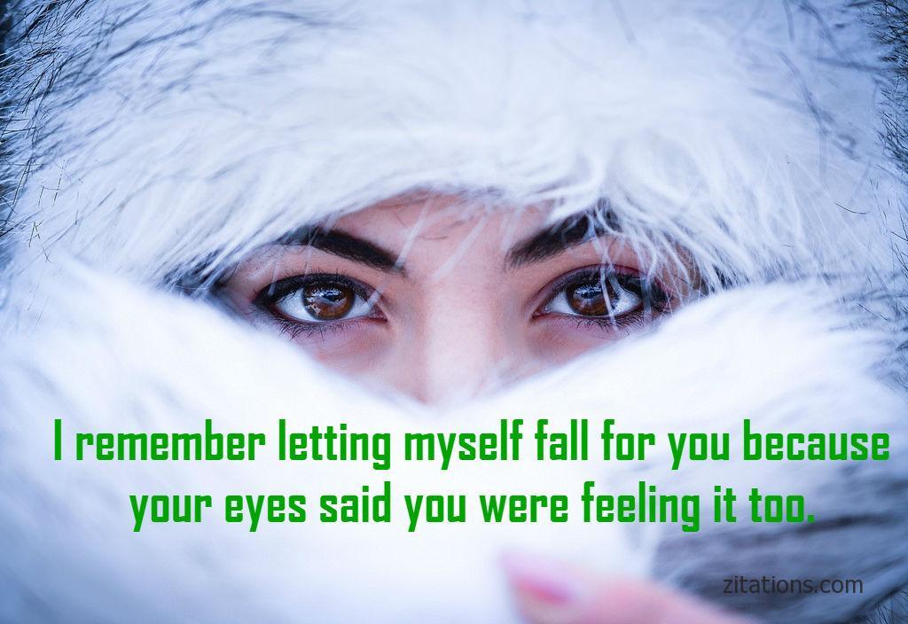 romantic eye quotes