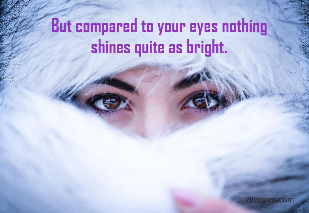 Beautiful Eye Quotes For Her