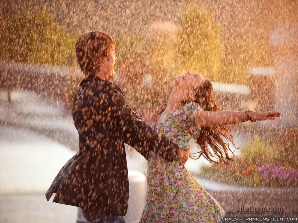 Romantic Rain Quotes