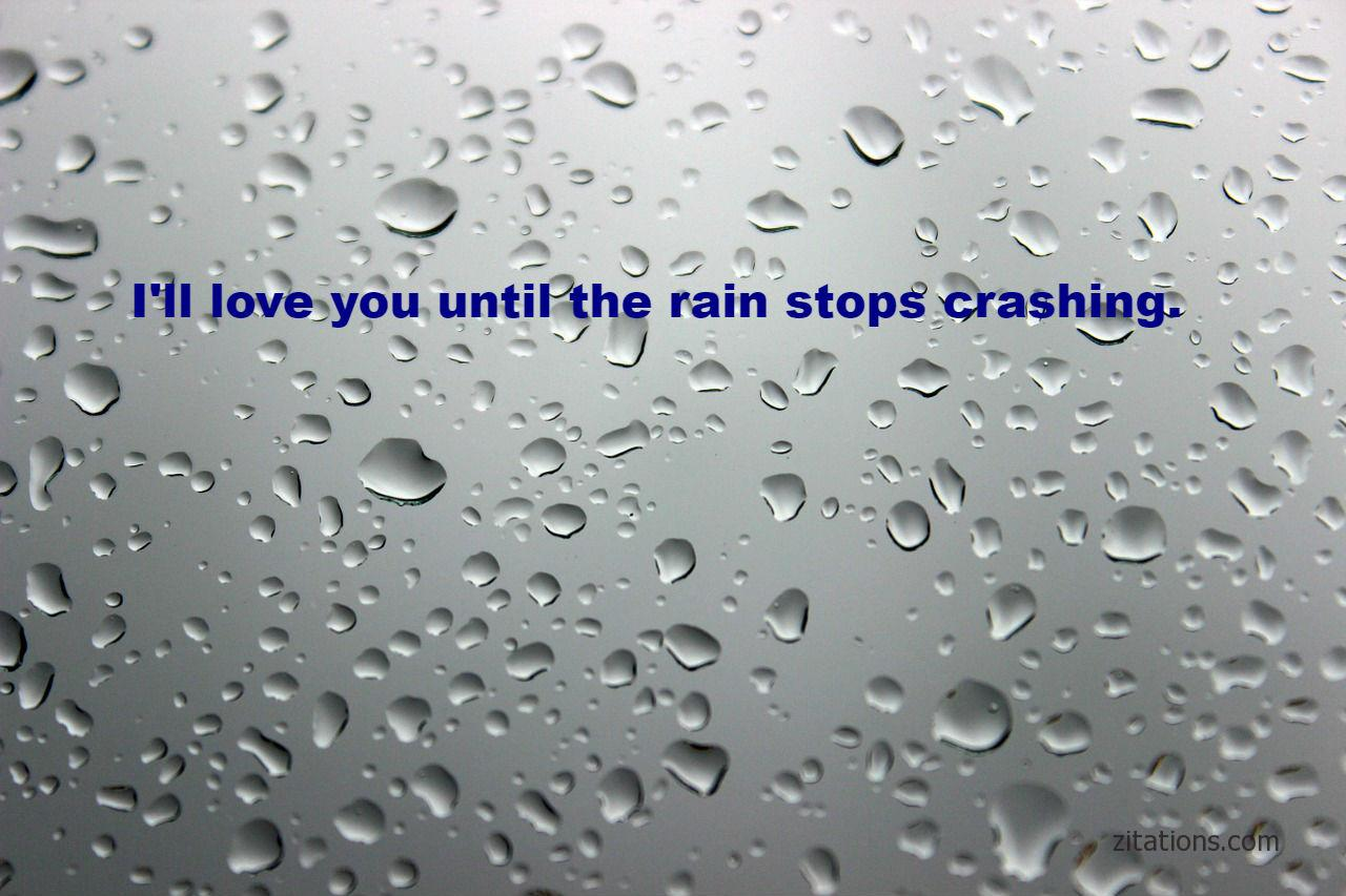 Romantic Rain Quotes 7