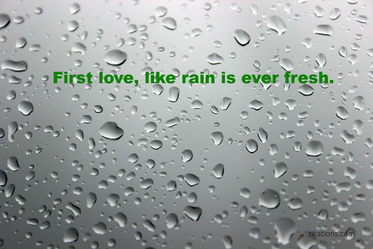 Romantic Rain Quotes