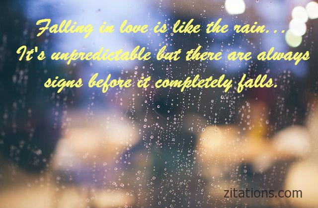 Great Romantic Rainy Day Quotes