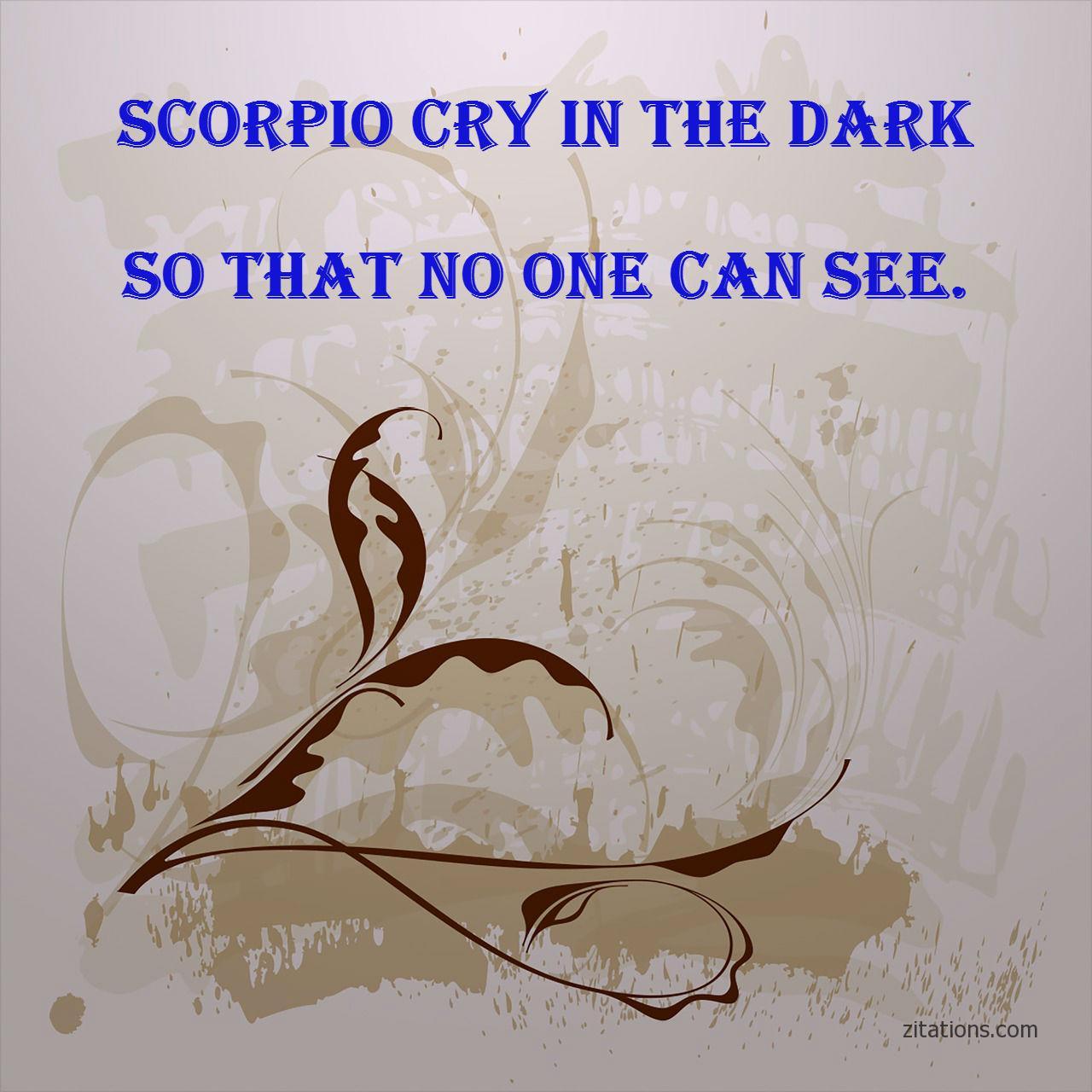 scorpio quotes 9