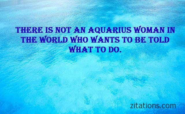 Aquarius woman quotes 2