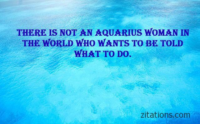 Aquarius woman quotes 2