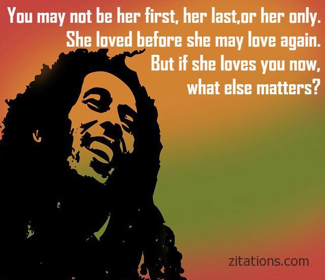 Bob Marley Love Quotes 2