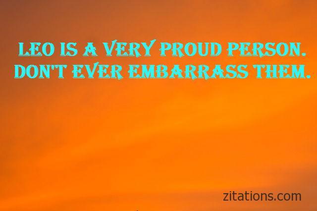 leo personality quotes 11