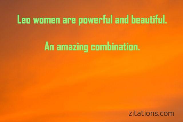 leo women quotes 9