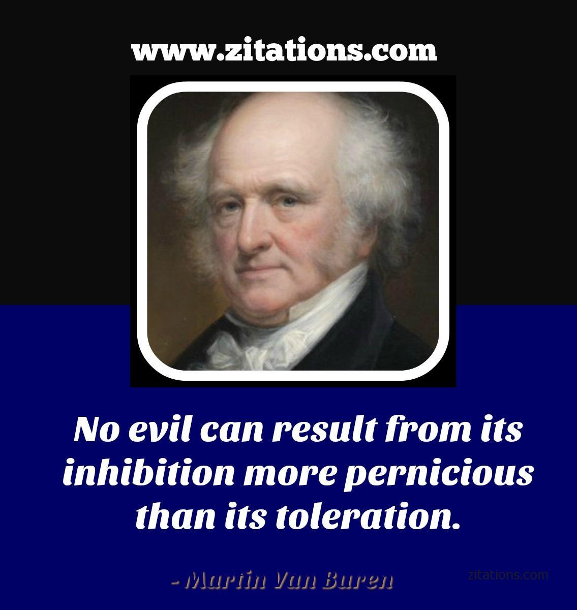 Quotes from Martin Van Buren