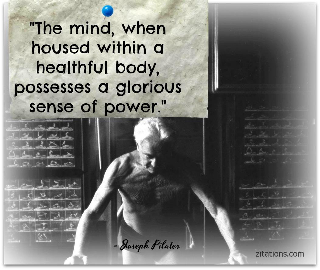 Joseph Pilates Quotes