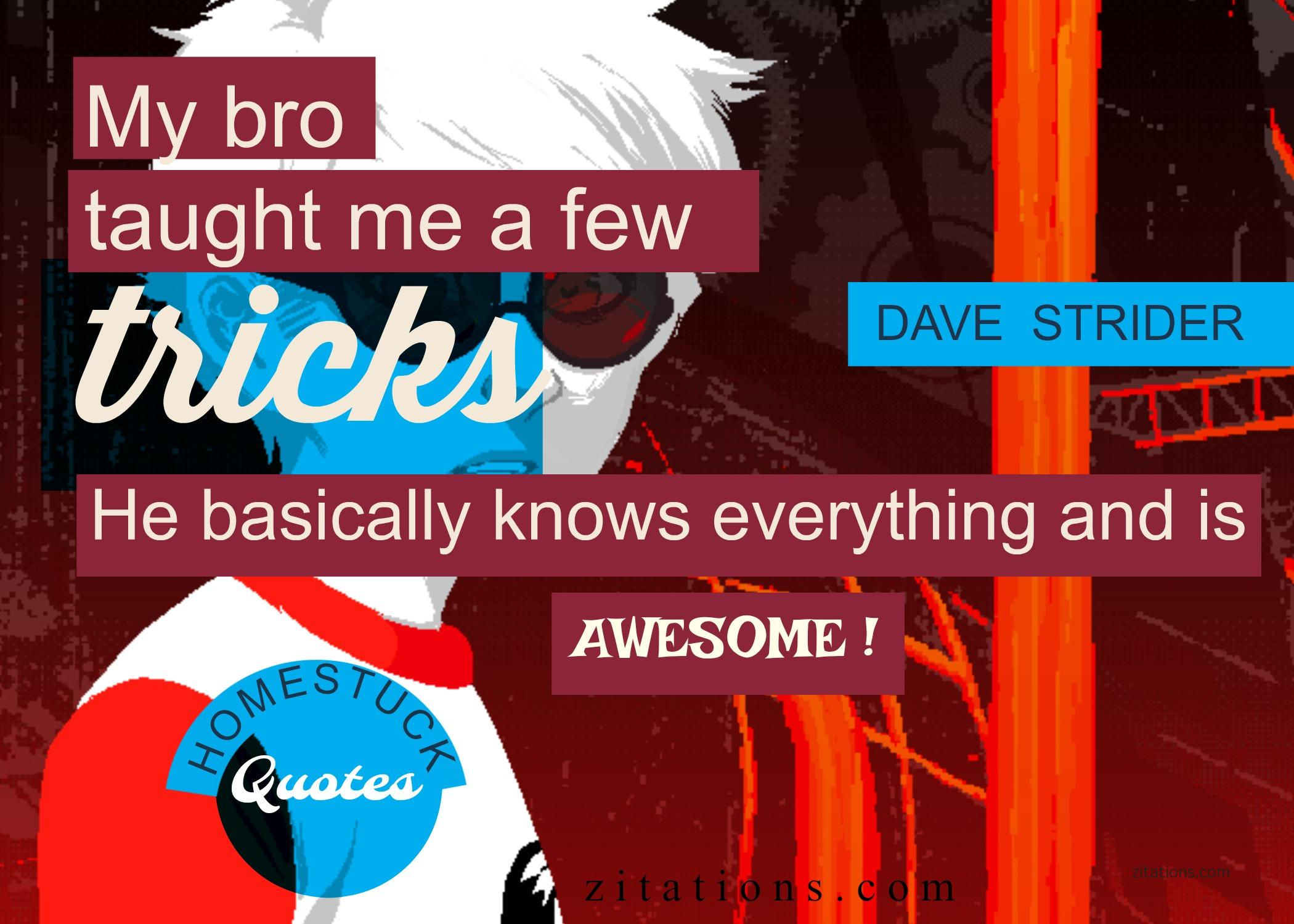 Dave Strider Quotes