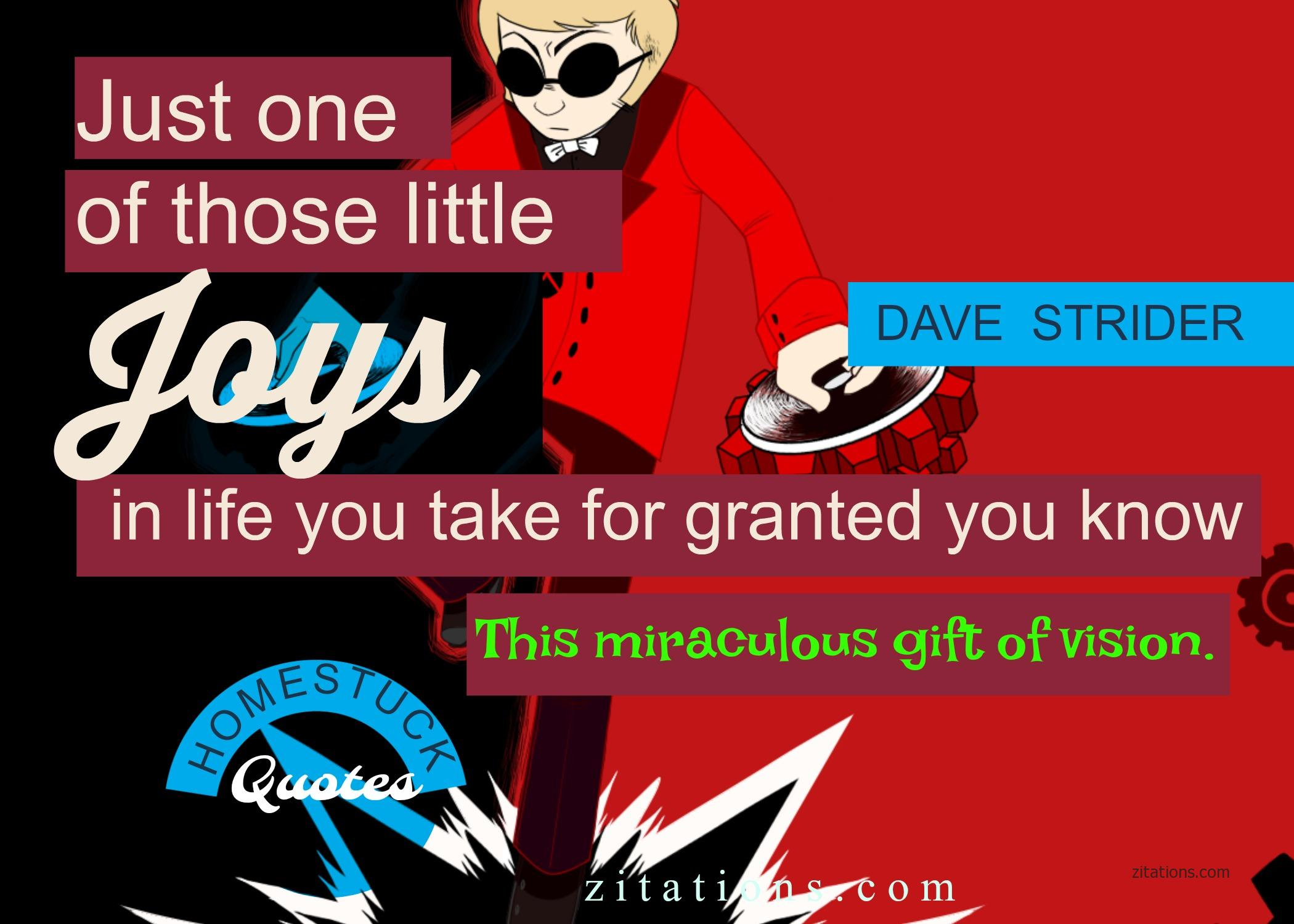 Dave Strider Quote