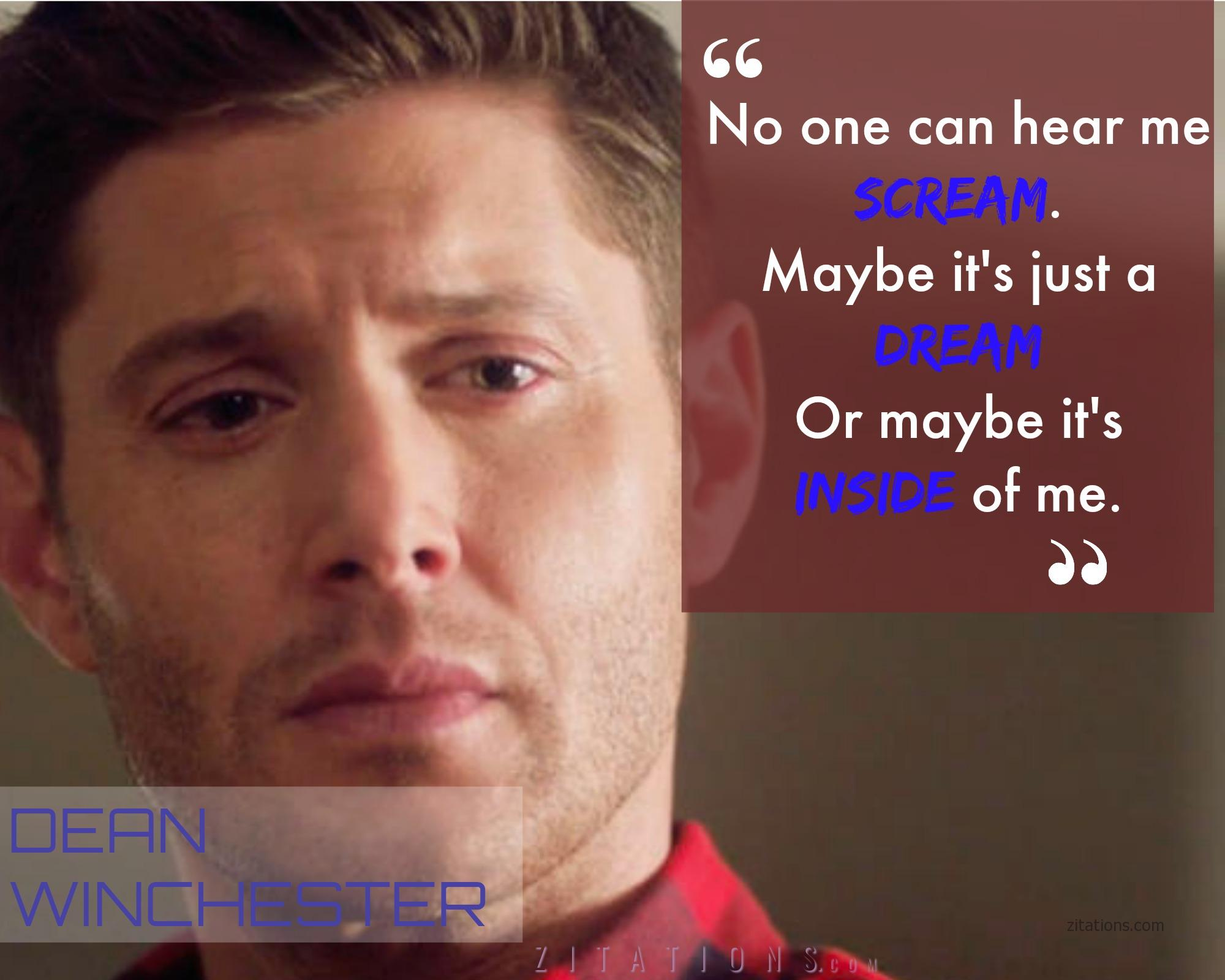 Supernatural Dean Quotes