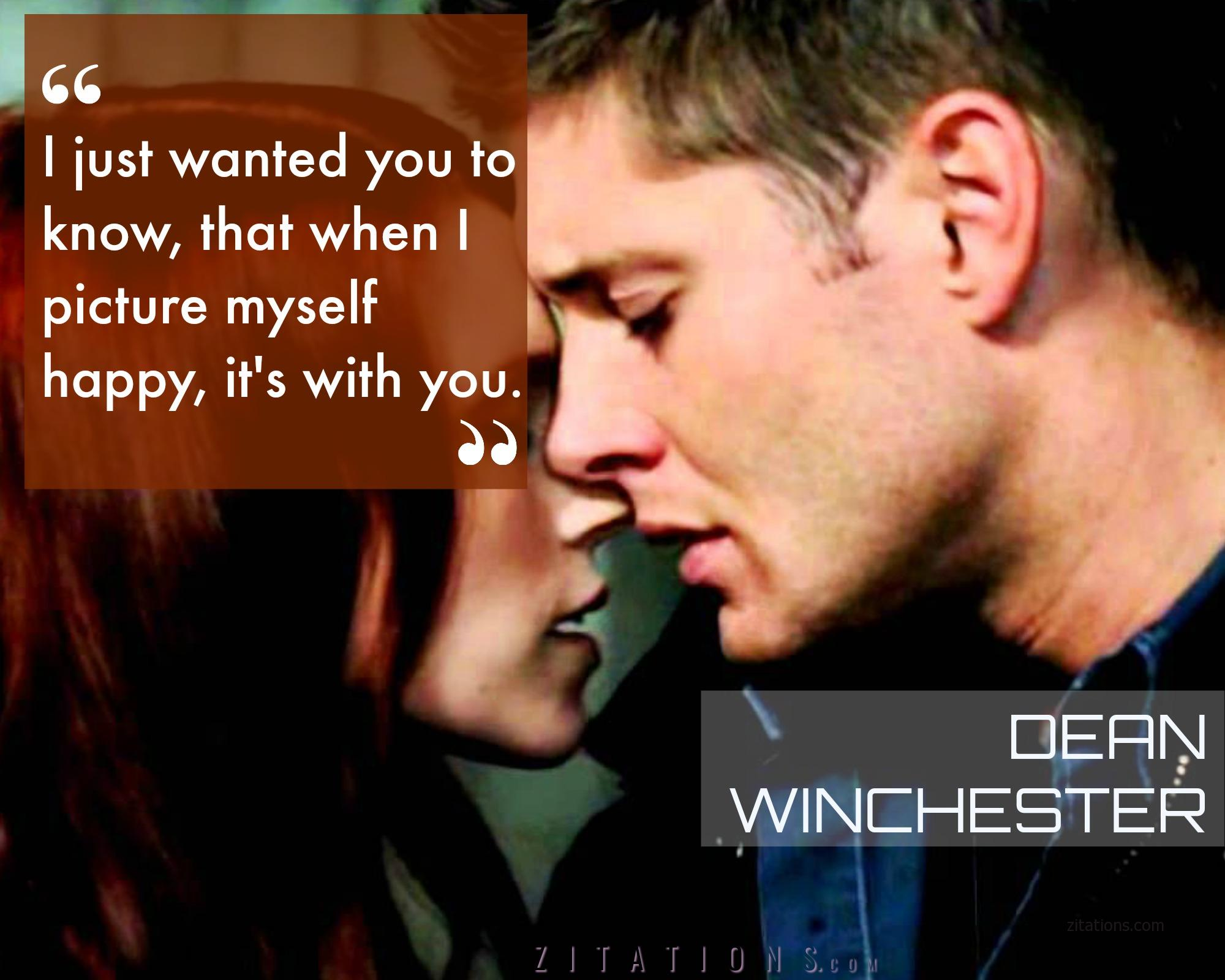 Romantic Dean Quote