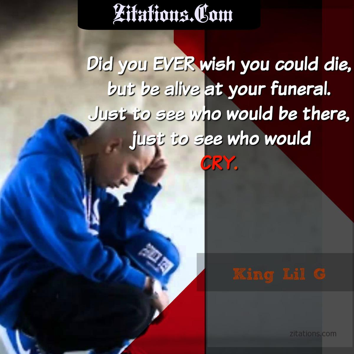King Lil G Quotes - Top 10 Best - Alex Gonzalez Quotes