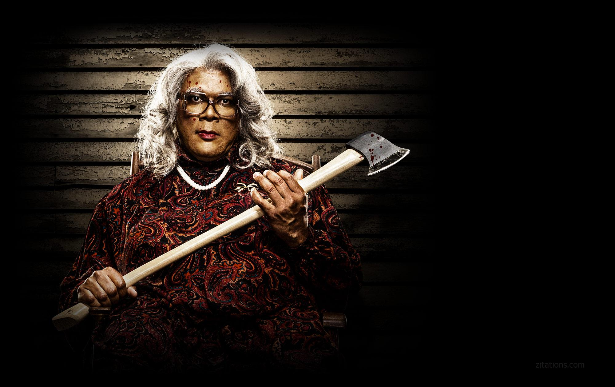 Madea Funny Quotes Top 10 Best Tyler Perry Quotes