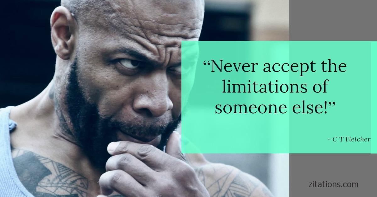 Ct Fletcher Quotes Top 10 Best Super Inspiring