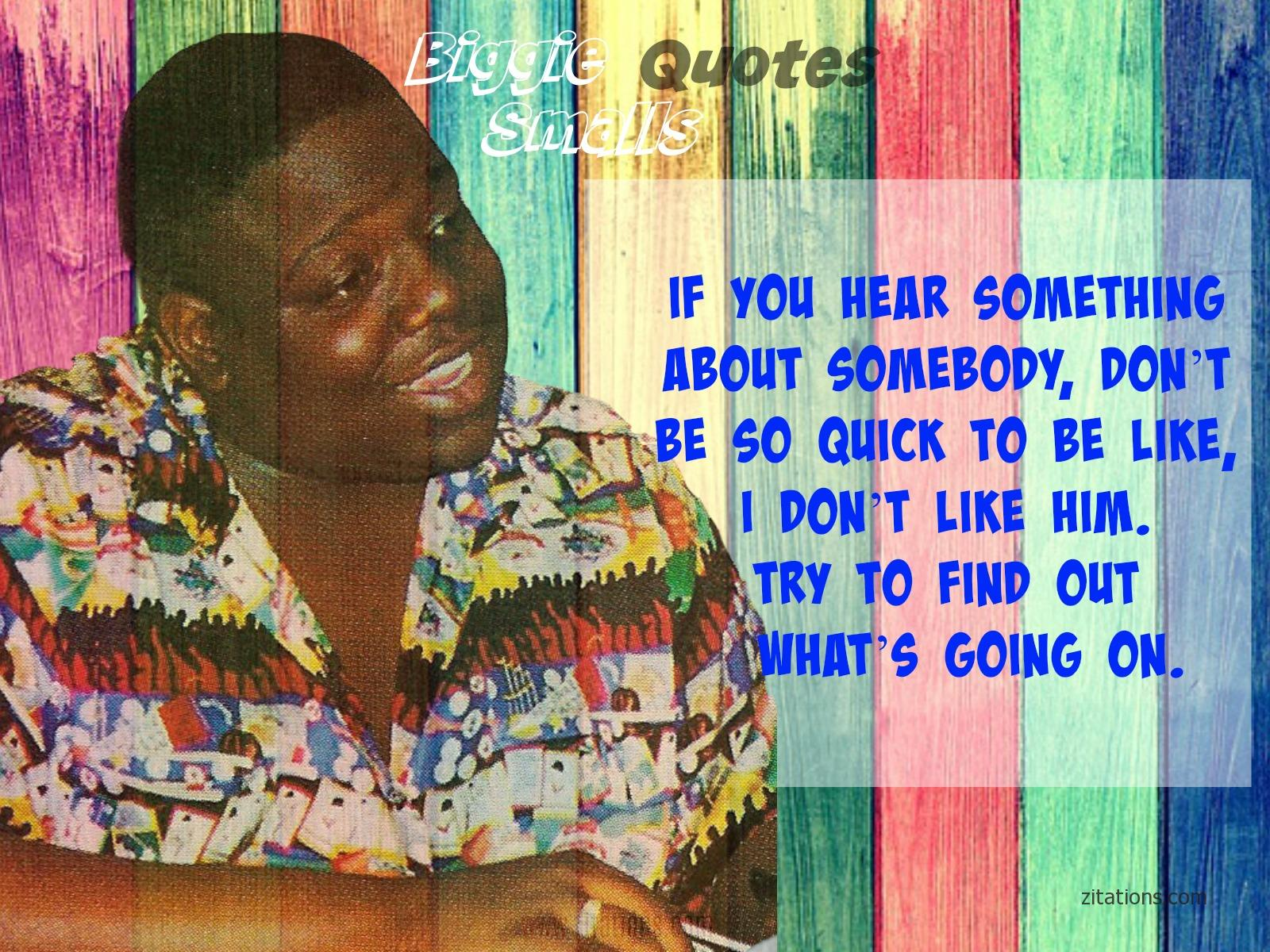 Sensible Biggie Smalls Sayings